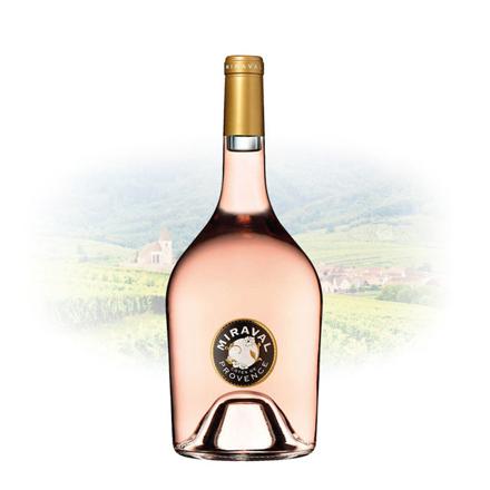 图片 Miraval Rose Cotes de Provence French Pink Wine 750 ml, MIRAVALROSE
