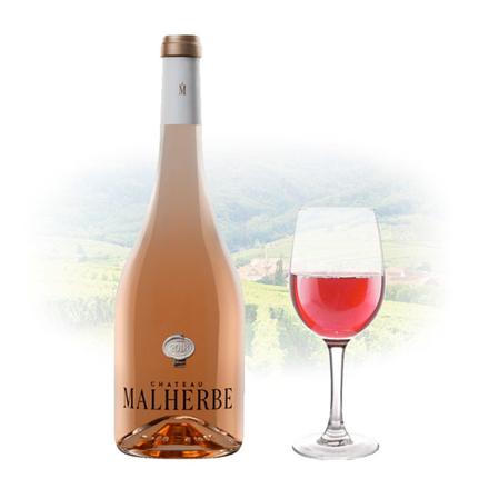 图片 Chateau Malherbe Cotes de Provence Rose French Pink Wine 750 ml, CHATEAUMALHERBEROSE