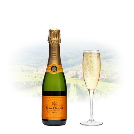 图片 Veuve Clicquot Brut Champagne 375ml (Half Bottle), VEUVEBRUT375