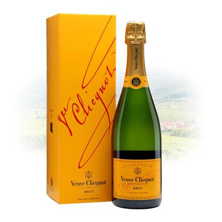 图片 Veuve Clicquot Brut Champagne 750 ml, VEUVEBRUT750