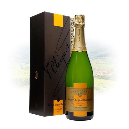 图片 Veuve Clicquot Brut Vintage 2004 Champagne 750 ml, VEUVEBRUT2004