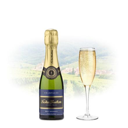 图片 Nicolas Feuillatte Brut Reserve Champagne 375ml (Half Bottle), NICOLASRESERVE
