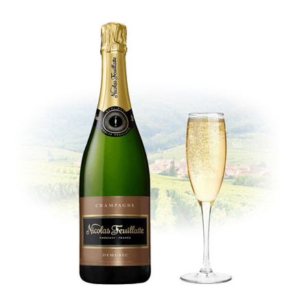图片 Nicolas Feuillatte Demi-Sec Champagne 750 ml, NICOLASDEMISEC