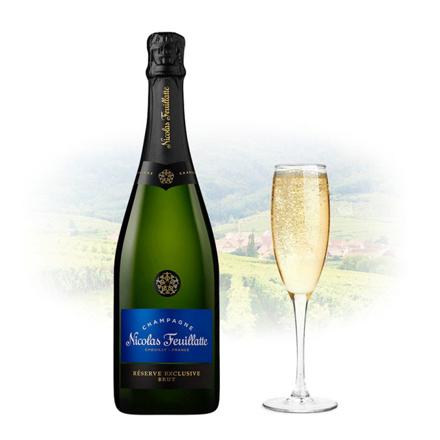 图片 Nicolas Feuillatte Reserve Exclusive Brut Champagne 750 ml, NICOLASEXCLUSIVE