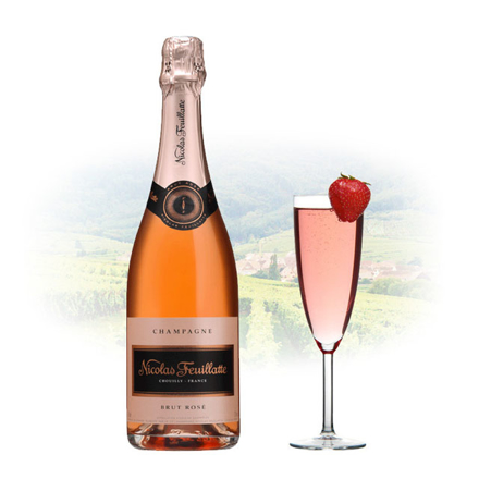 图片 Nicolas Feuillatte Brut Rose Champagne 750 ml, NICOLASBRUTROSE