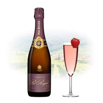 图片 Pol Roger Rose Vintage Champagne 750 ml, POLROGERROSE