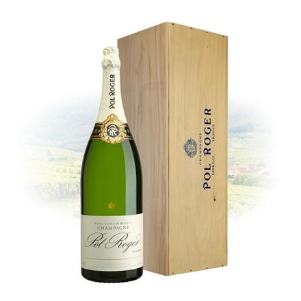 图片 Pol Roger Brut Reserve Champagne 6L Mathusalem, POLROGERRESERVE6L
