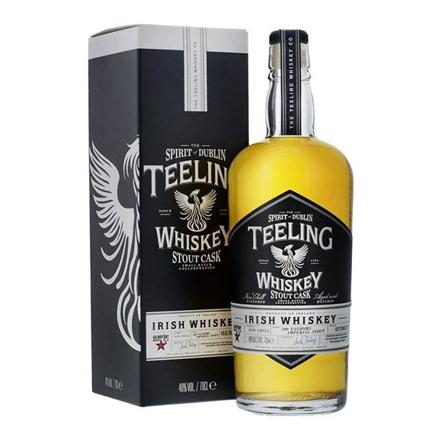 图片 Teeling Stout Cask Blended Irish Whiskey 700 ml, TEELINGSTOUTCASK