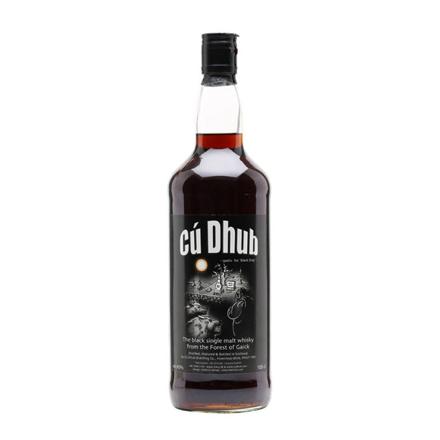 图片 Cu Dhub Black Whisky Single Malt Scotch Whisky 700 ml, CUDHUBBLACK