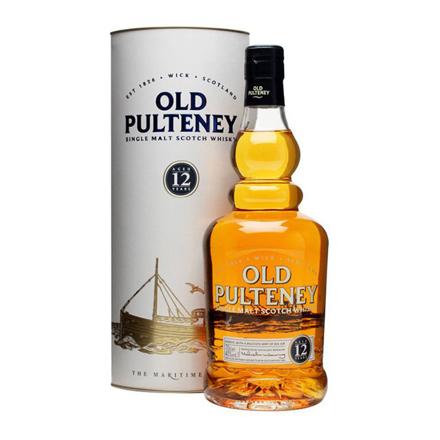图片 Old Pulteney 12 Year Old Single Malt Scotch Whisky 700 ml, OLDPULTENEY12