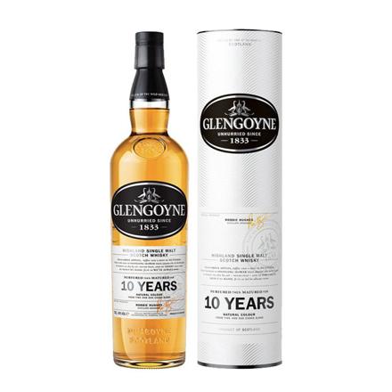 图片 Glengoyne 10 Year Old Single Malt Scotch Whisky 700 ml, GLENGOYNE10