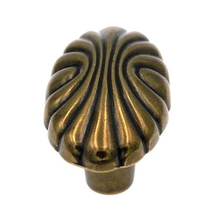 图片 Amerock Knob Natural Elegance Oval Shell 1-9/16x7/8, AR1338077