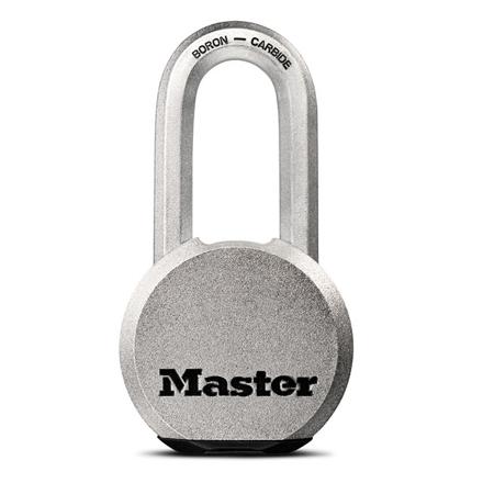 图片 Master Lock Padlock Solid Steel 59mm, MSPM830DLH