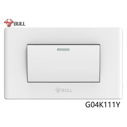 图片 Bull 1 Gang 1 Way Switch Set (White), G04K111Y
