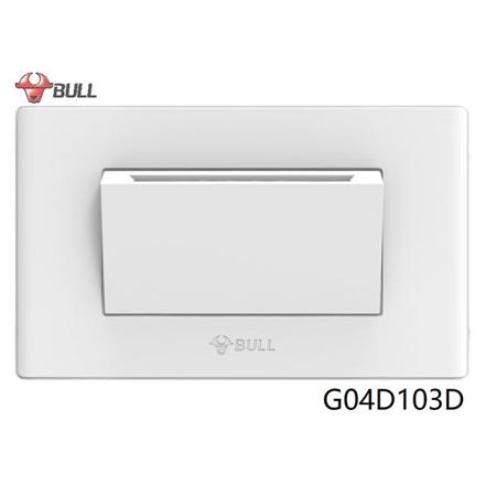 图片 Bull Intelligent Card Energy-efficient Switch Set (White), G04D103D