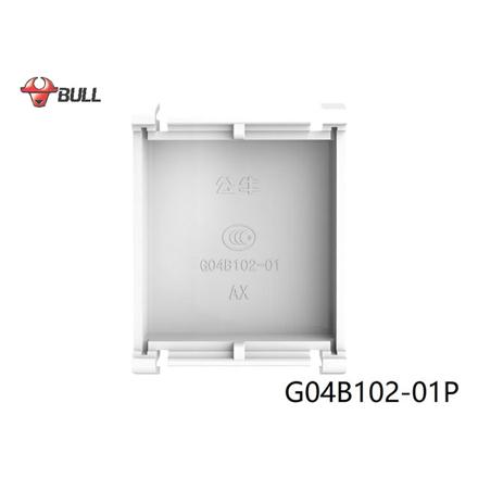 图片 Bull Blank Plate (White), G04B102-01P