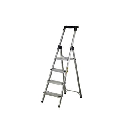 图片 Jinmao Aluminum 4 Steps Household Ladder 150 kg, JMA0112104