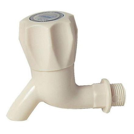 图片 Omega Plastic Tap Faucet Ball Type with Plain Bib 1/2 in x 4 in, PT-8125