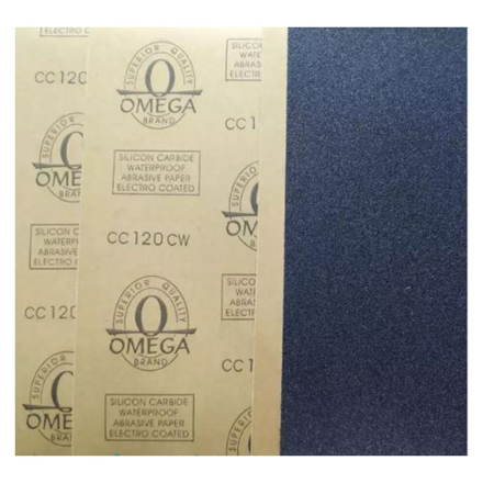 图片 Omega Waterproof Sand Paper (#36, #60, #80, #100, #120, #150, #180, #220, #240, #280, #320, #360, #400, #600, #800, #1000, #1200, #1500, #2000), #36