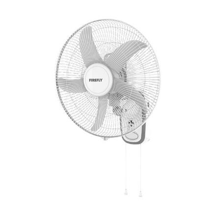 图片 Firefly 14″ Rechargeable Wall Fan with LED Night Light, FEL652