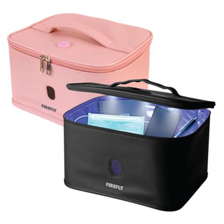 图片 Firefly UV Sterilizer Bag with Auto Shut-Off Safety Feature (Black, Pink), FYL401BK