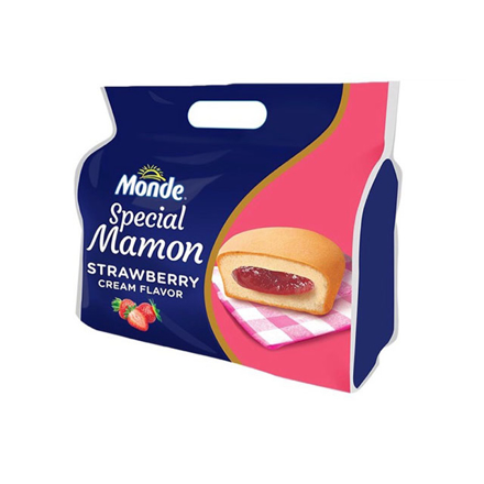 图片 Monde Mamon 4x48g (Strawberry Jam, Chocolate, Vanilla), MON06