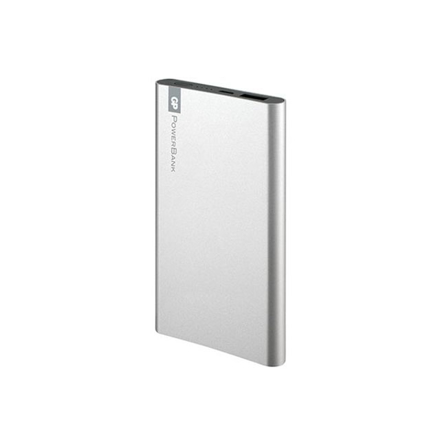 图片 GP Portable Power Bank 5000 MAH Silver, GPGPACCFPO5001