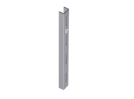 Picture of Element System Single Wall Upright 0.5m White Alum