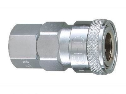 """Picture of THB 3/8"""" Steel Quick Coupler Body - Female End"""