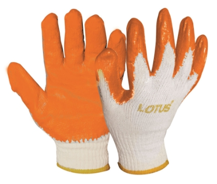 Picture of Lotus LSCG800 Rubber Gloves (Orange)