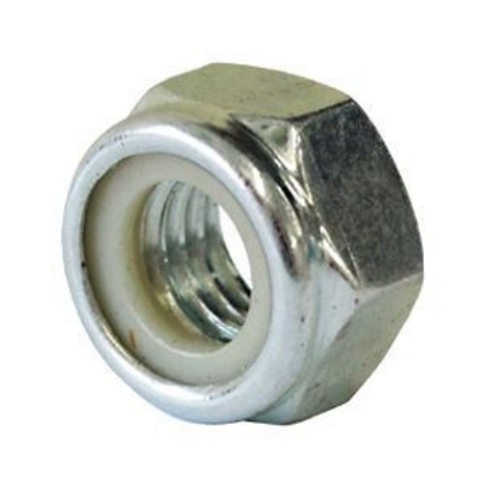 Picture of 304 Stainless Steel Lock Nut Inches Size