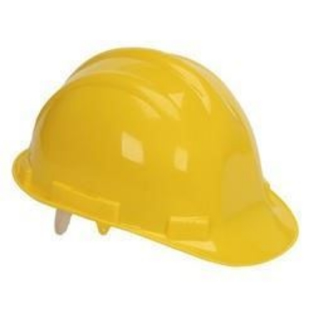 Picture of Powerhouse Abs Plastic Safety Helmet H.D Yellow