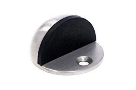 Picture of Powerhouse Half Moon Dome Door Stopper Zinc PH-DS001
