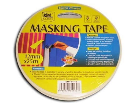 Picture of KL & LING Int Inc Masking Tape, KISM0124