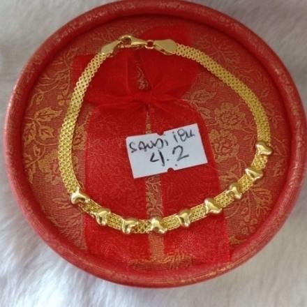 Picture of 18K - Saudi Gold Jewelry, Bracelet - 4.2g