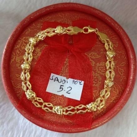 Picture of 18K - Saudi Gold Jewelry, Bracelet - 5.2g