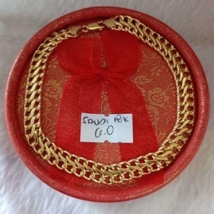 Picture of 18K - Saudi Gold Jewelry, Bracelet - 6.0g