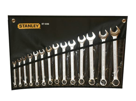 Picture of Stanley Slimline Combination Wrench Set 14PCS.   ST87036