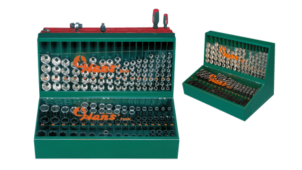 Picture of Hans 125 Pcs. Display Stand - Socket Wrench Metric 6 Pts.