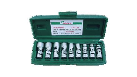 图片 Hans 1/4 DR. 9 Pcs. Universal Joint Socket