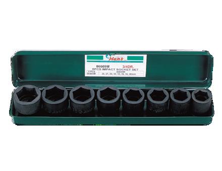 圖片 Hans 8 Pcs. Impact Socket Set - Metric Size