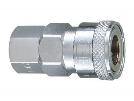 """Picture of THB 1/2"""" Steel Quick Coupler Body - Female End"""