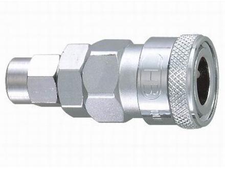 图片 THB 8x12 Steel Quick Coupler Body - PU Hose End