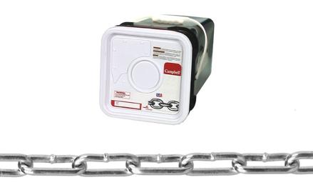 圖片 USA Campbell Straight Link Coil Chain - Blu-Krome Finish