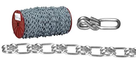 圖片 USA Campbell Lock Link - Single Loop Chain - Blu-Krome Finish