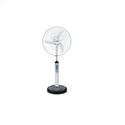 """圖片 Firefly 16"""" Oscillating 3-Speed Stand Fan with 6 LED Night Light & USB Mobile Phone Charger FEL631"""