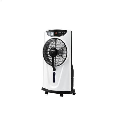 "Firefly 12"" Oscillating 3-Speed Water Mist Fan with 9 LED Night Light FEL641의 그림"