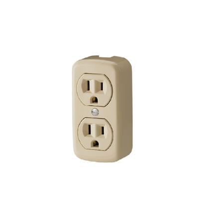 圖片 Firefly 2 Gang 2-Pin Convenience Outlet FEDOU203