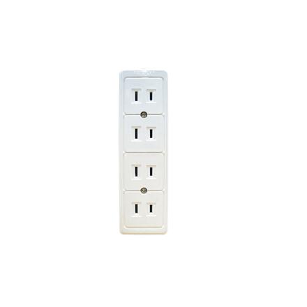 圖片 Firefly 4 Gang 2-Pin Convenience Outlet FEDOU204