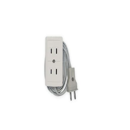 圖片 Firefly 2 Gang 2-Pin Convenience Outlet ECSFO402